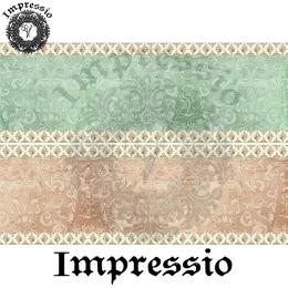 214873. Рисовая декупажная карта Impressio.  25 г/м2