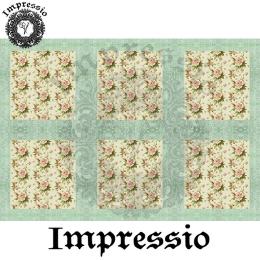 214874. Рисовая декупажная карта Impressio.  25 г/м2