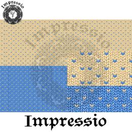 215105. Рисовая декупажная карта Impressio.  25 г/м2