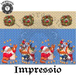 215106. Рисовая декупажная карта Impressio.  25 г/м2