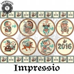 7904. Декупажная карта  Impressio, плотность 45 г/м2