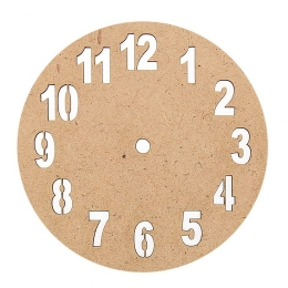 ОД-13. Основа для часов с цифрами, МДФ