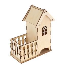 ЧД-44. Чайный домик с балконом, дерево