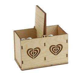 ЧД-65. Коробочка для чая «Сердца»