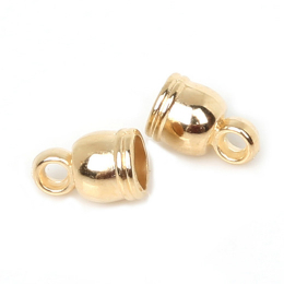 hm-1217. Колпачок для кисточек, цвет золото. 50 шт., 2 руб/шт