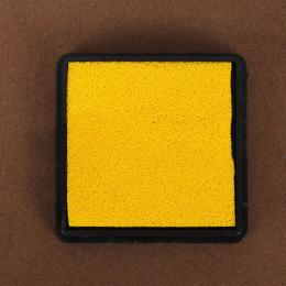 hm-1387. Подушечка штемпельная, желтый
