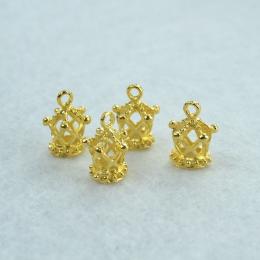 hm-1416. Подвеска Корона, цвет золото. 5 шт., 19 руб/шт