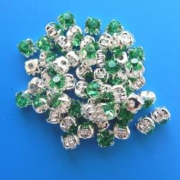 hm-352. Пришивной элемент, зеленый. 10 шт.