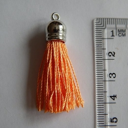 hm-642. Кисточка, цвет оранжевый. 5 шт., 25 руб/шт