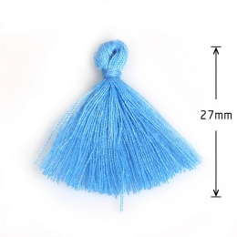 hm-883. Кисточка, цвет голубой