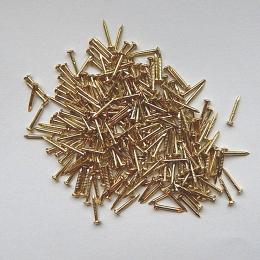 hm-991. Гвоздь, цвет золото, 1000 шт., 60 коп/шт