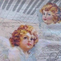 12011. Головы ангелов.