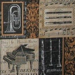 12061. Музыкальные инструменты. 5 шт., 19 руб/шт