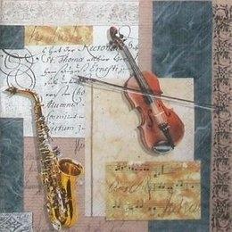 12103. Инструменты, ноты и письмена