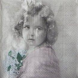 12121. Девочка с букетом.