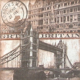 12152. Мост над Темзой. 5 шт., 25 руб/шт
