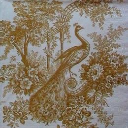 12154. Золотой павлин.