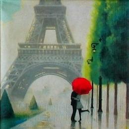 12161. Поцелуй в Париже. 15 шт., 24 руб/шт