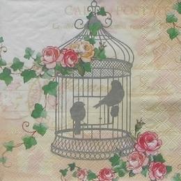 12191. Птички в клетке. 20 шт., 14 руб/шт
