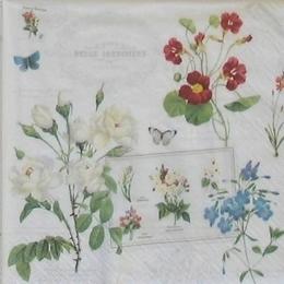 12218. Цветы на белом