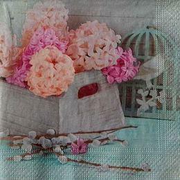 12282. Цветы в ящике
