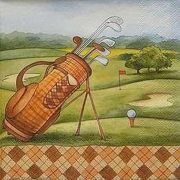 12323. Поле для гольфа. 5 шт., 23 руб/шт