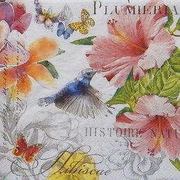 12333. Птицы и цветы. 5 шт., 23 руб/шт