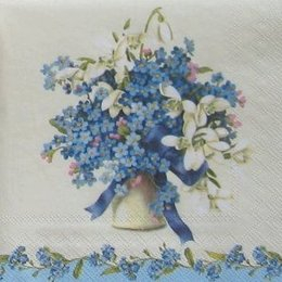 12369. Синий букет. 5 шт., 16 руб/шт