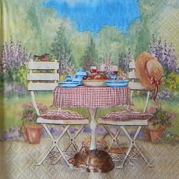 12405. Дачный столик