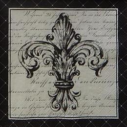12462. Лилия французская на письменах
