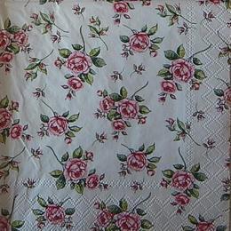 12510. Розы на белом. 15 шт., 16 руб/шт
