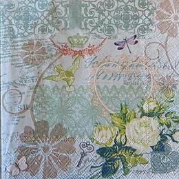 12520. Розы и кружева. 5 шт., 20 руб/шт
