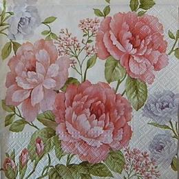 12533. Розовый букет. 5 шт., 17 руб/шт