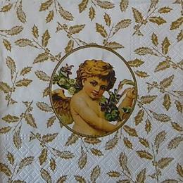 12537. Ангел на золотых ветках. 5 шт., 17 руб/шт