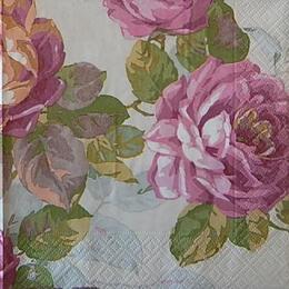 12538. Крупные розы