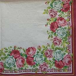 12580. Бордюр из роз