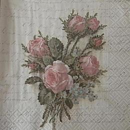 12604. Розы на письменах. 15 шт., 28 руб/шт