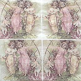 12611. Разноцветные ангелы. 10 шт., 27 руб/шт