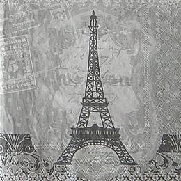 12649. Эйфелева башня на письменах. 10 шт., 17 руб/шт