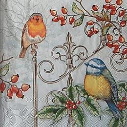 12698. Зимние птицы
