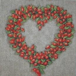 1270. Сердце из шиповника