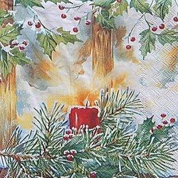 12714. Новогодняя свеча. 5 шт., 20 руб/шт