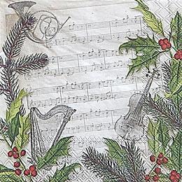 12715. Рождественская песня. 10 шт., 17 руб/шт