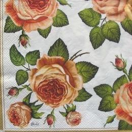 12746. Розы на белом. 5 шт., 17 руб/шт