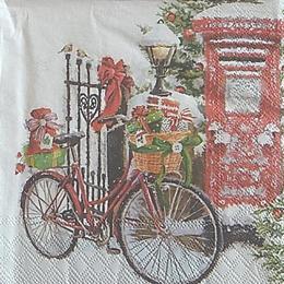 12749. Велосипед с подарками