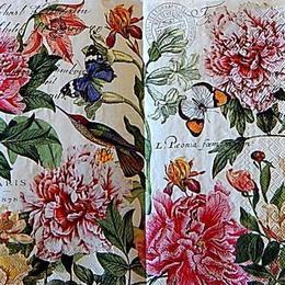 12762.Птицы с цветами