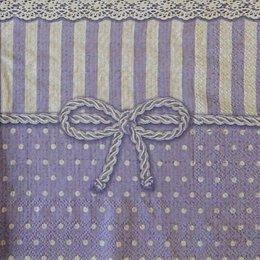 12812. Фиолетовый узор