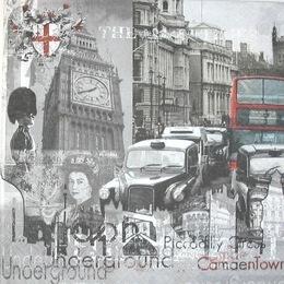 12856. Черно-белый Лондон. 15 шт., 20 руб/шт