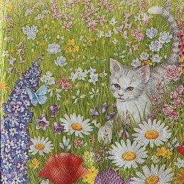 12885. Кошка в поле. 10 шт., 18 руб/шт