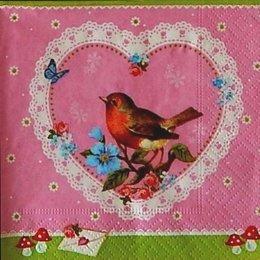 12930. Птичка в сердце